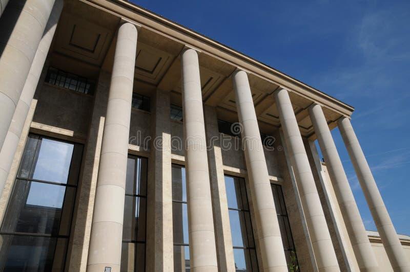 Le Palais de Tokio, un museo en París imagen de archivo