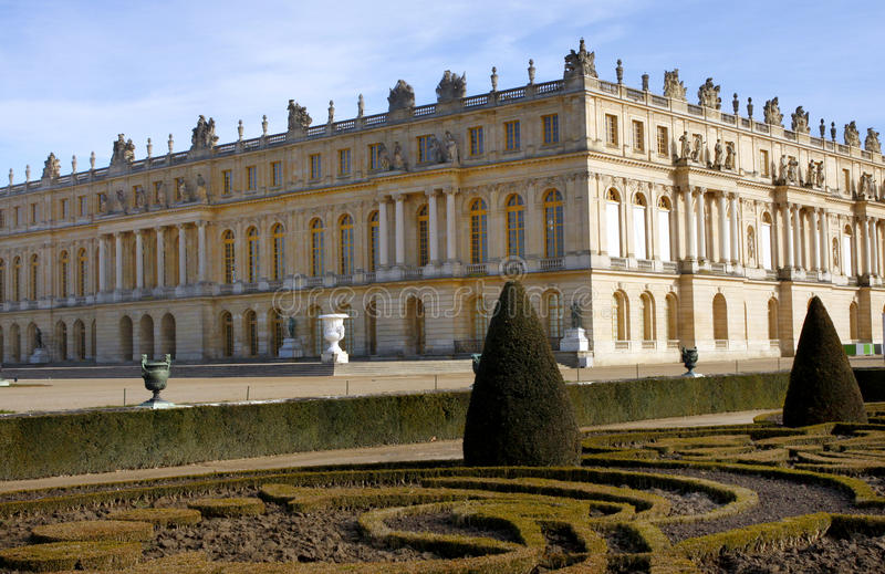 Le palais de Versailles image libre de droits