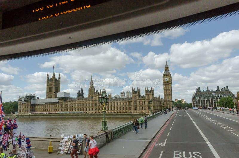 Le palais de Westminster, Chambres du Parlement, le Parlement britannique Le Royaume-Uni, Londres image stock