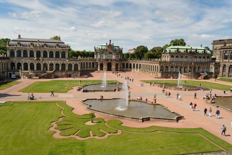 Le palais de Zwinger image libre de droits