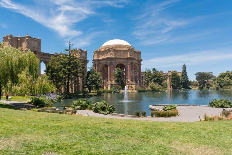 Le palais des beaux-arts, San Francisco photographie stock libre de droits