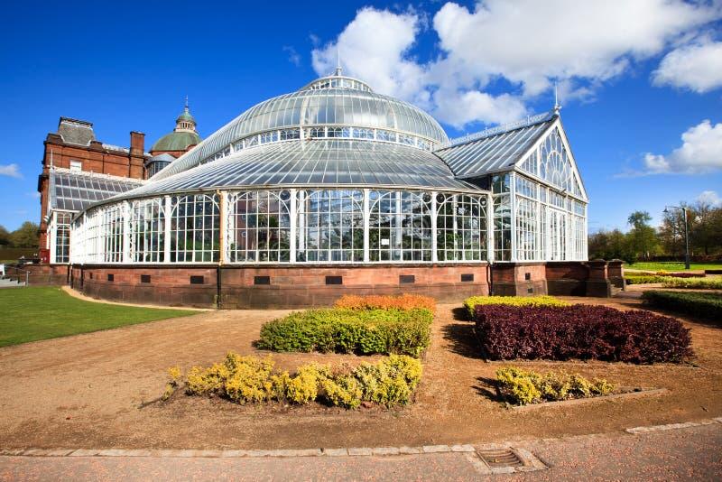 Le palais des personnes et le jardin d'hiver, Glasgow, Ecosse photographie stock