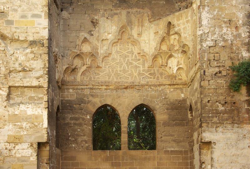 Le palais du Cuba de Palerme, intérieurs image stock