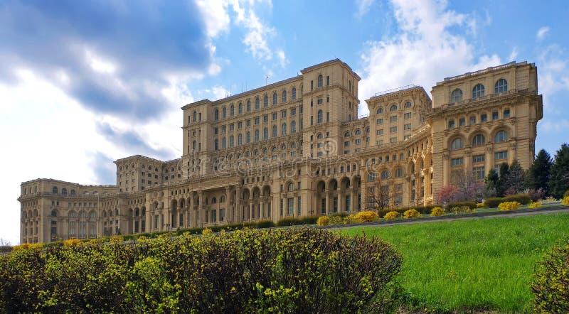 Le palais du Parlement images stock