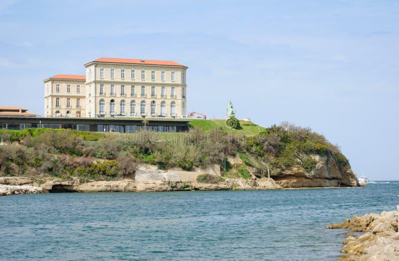 Le Palais du Pharo, Marseille, Frankreich lizenzfreies stockbild