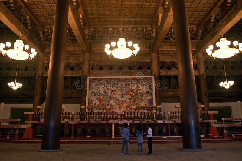 Le palais du travailleur, Pékin, Chine images libres de droits