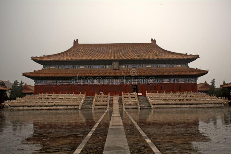 Le palais du travailleur, Pékin, Chine photo libre de droits