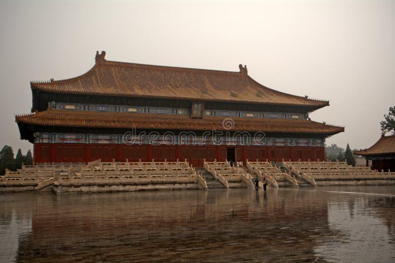 Le palais du travailleur, Pékin, Chine images stock