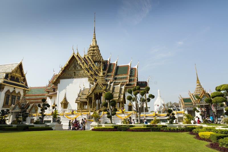 Le palais grand - Bangkok images libres de droits