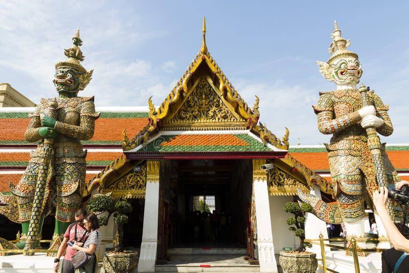 Le palais grand - Bangkok photo libre de droits