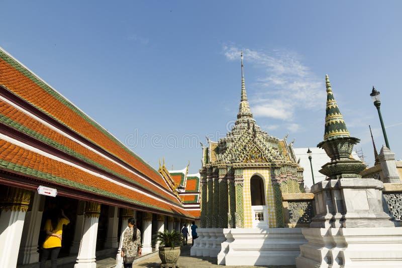 Le palais grand - Bangkok photo stock