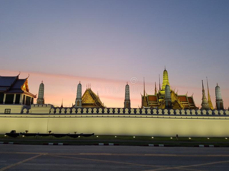 Le palais grand ? Bangkok, Tha?lande images libres de droits