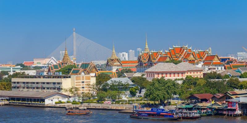 Le palais grand de la Thaïlande image libre de droits