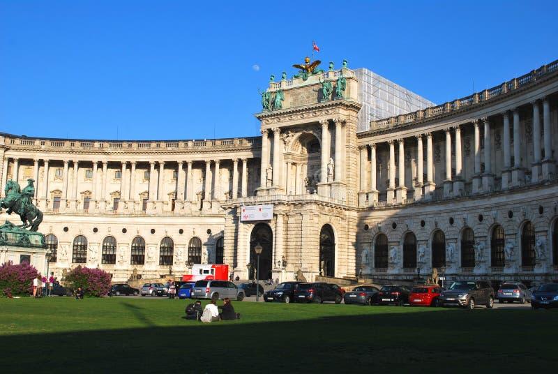 Le palais impérial de Hofburg au centre historique de Vienne photo stock