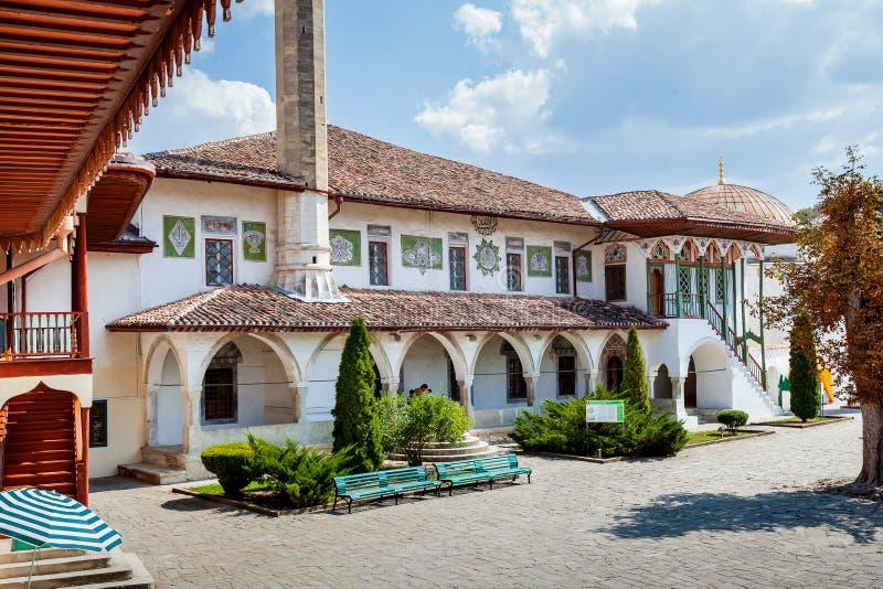 Le palais oriental dans Bakhchisaray images stock