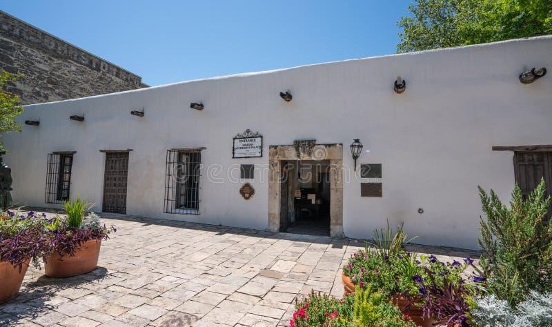Le palais San Antonio du gouverneur espagnol image stock