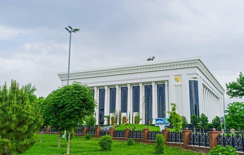 Le palais sur Amir Timur Square image stock