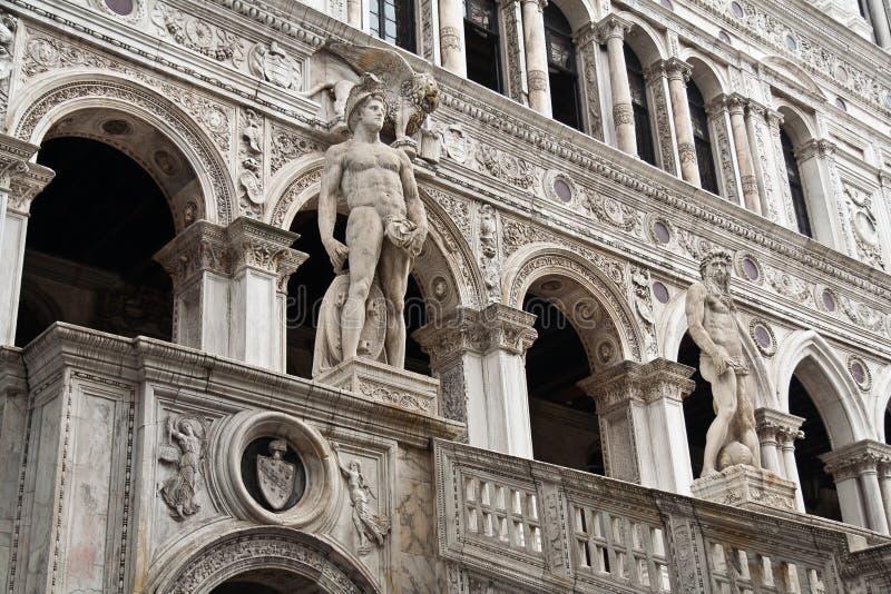 Le palais Venise de doge images libres de droits