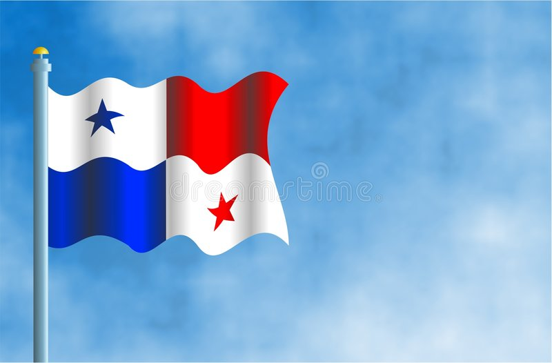 Le Panama illustration stock