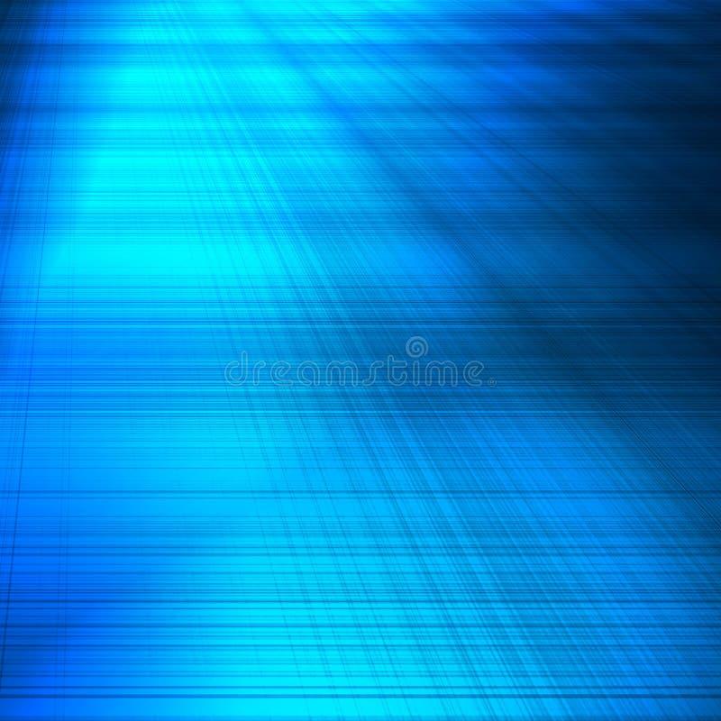 Le panneau abstrait bleu de modèle de grille de fond peut employer en tant que le fond ou texture de pointe illustration libre de droits