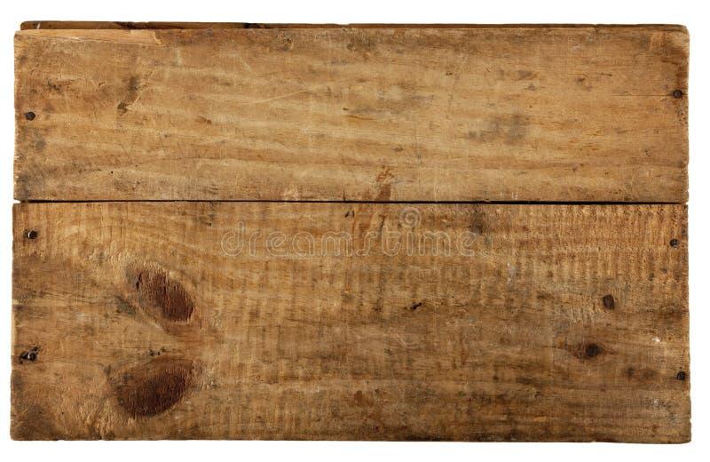 Le panneau en bois réellement vieux photos libres de droits