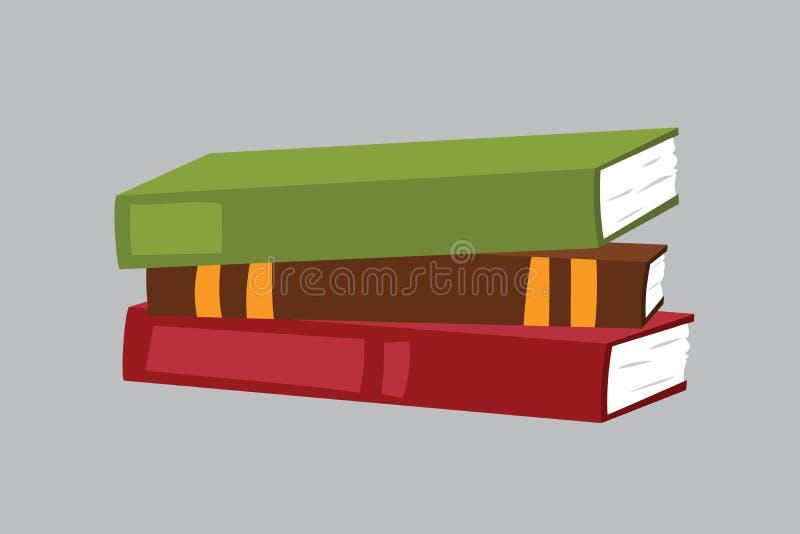 Le papier de journal intime d'organisateur de livre d'illustration de vecteur de carnet de planificateurs, note, affaires de page illustration libre de droits