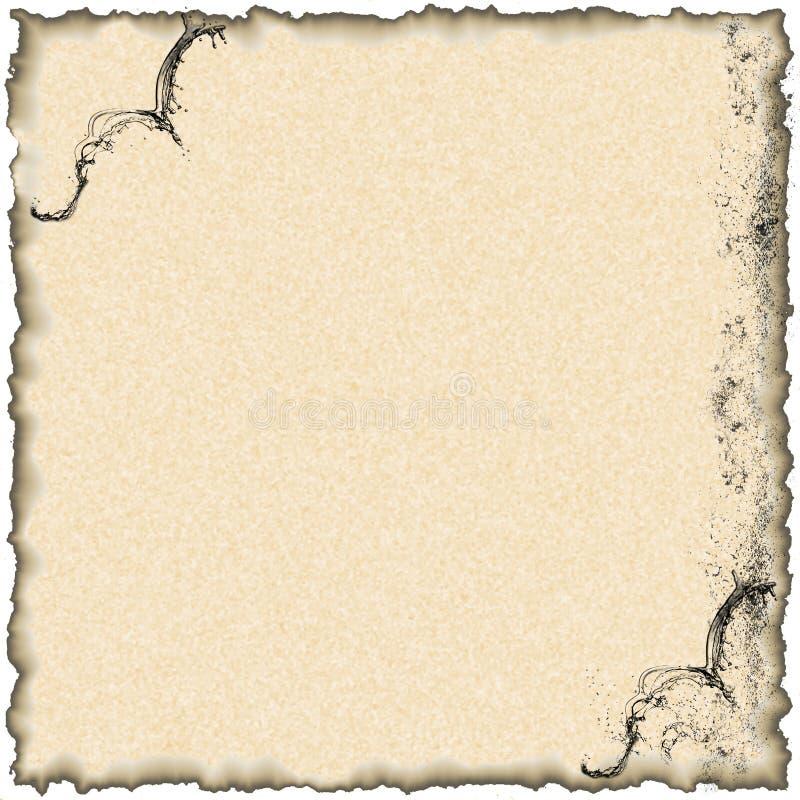 Le papier roussi photos libres de droits