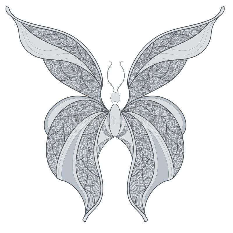 le papillon est abstrait image libre de droits