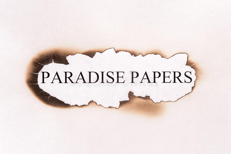 Le paradis empaquette le texte photos libres de droits