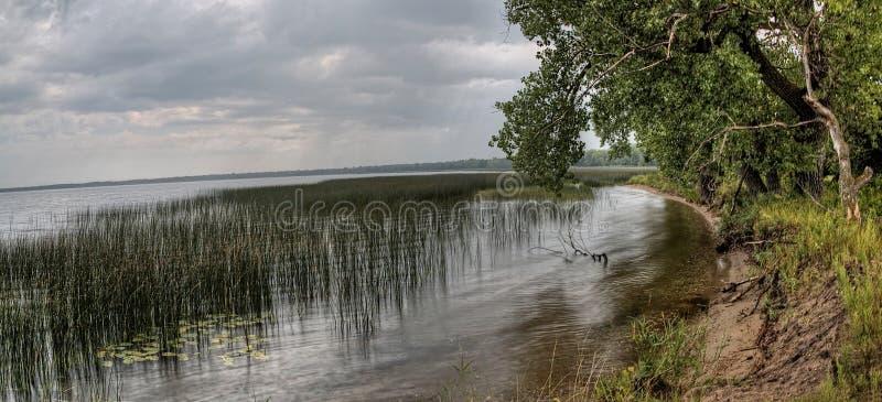 Le parc d'état de Glendalough est situé près du lac battle et du lac Ottertail, Minnesota images stock