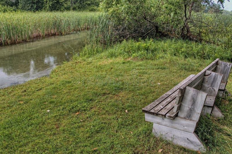 Le parc d'état de Glendalough est situé près du lac battle et du lac Ottertail, Minnesota photo libre de droits