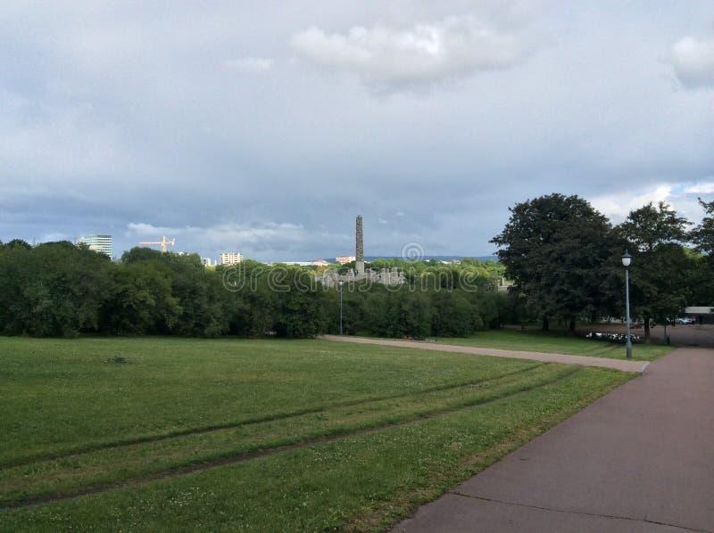 Le parc de Vigeland, Oslo, Norvège images stock