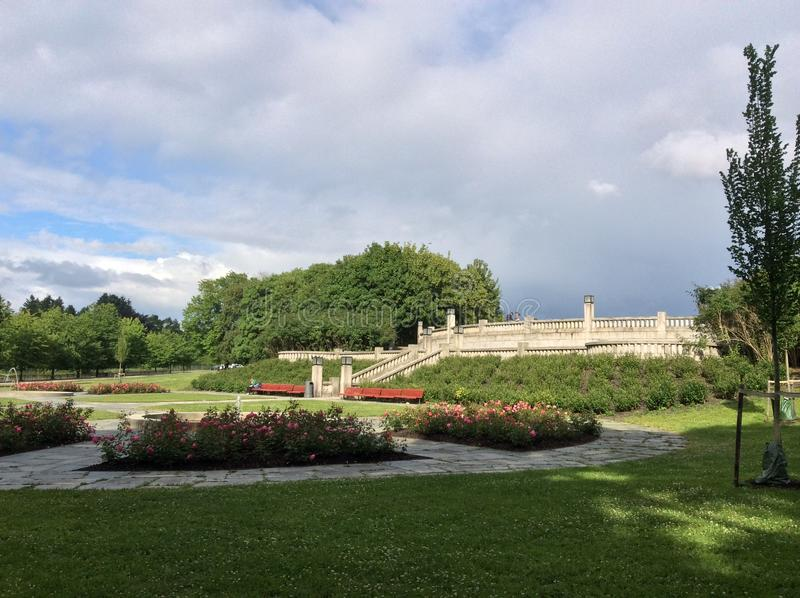 Le parc de Vigeland, Oslo, Norvège photographie stock libre de droits