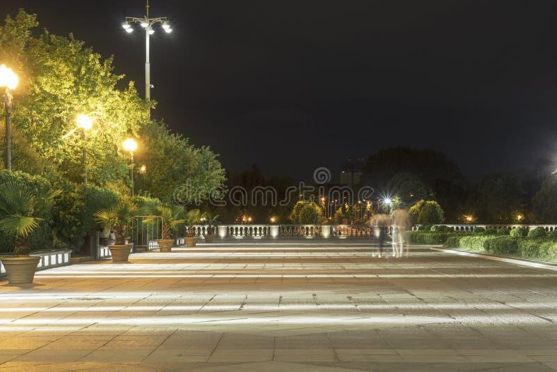 Le parc Gorki photo libre de droits