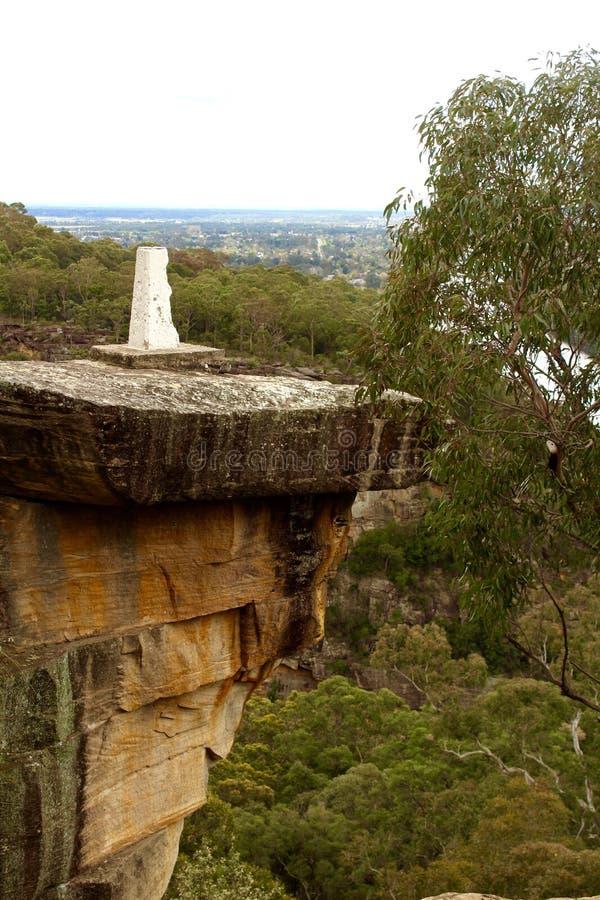 Le parc national Sydney Australia de montagnes bleues photo libre de droits