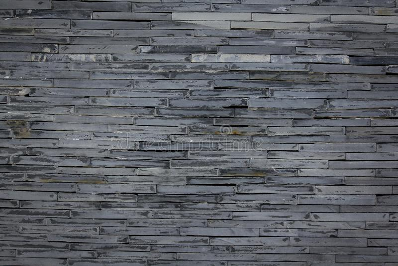 Le pareti del granito sono impilate parecchi strati fotografia stock