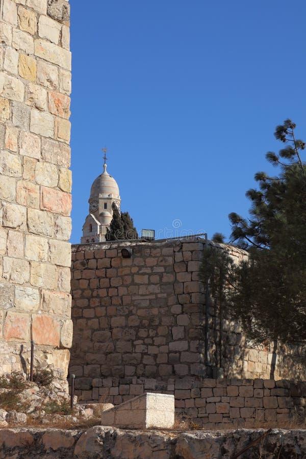 Le pareti e la torretta David fotografie stock libere da diritti