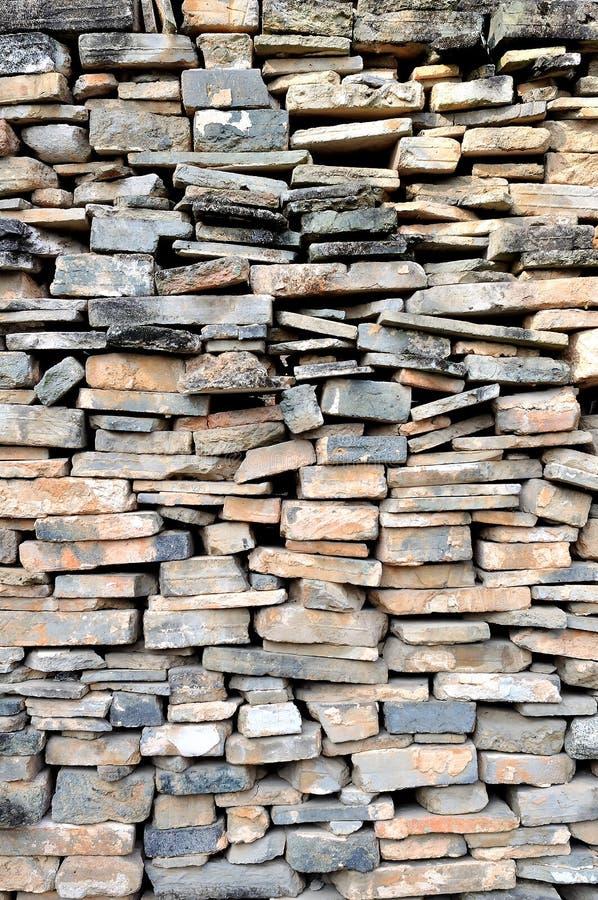 Le pareti esterne del vecchio immagine stock libera da diritti