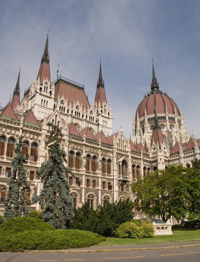 Le Parlement à Budapest photo libre de droits