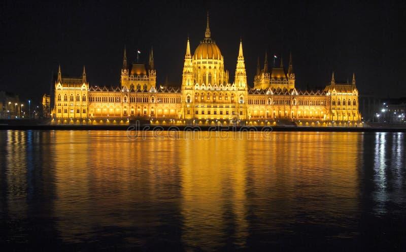 Le Parlement à Budapest photographie stock libre de droits
