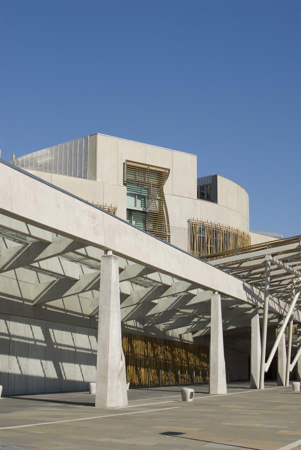 Le Parlement écossais. photographie stock