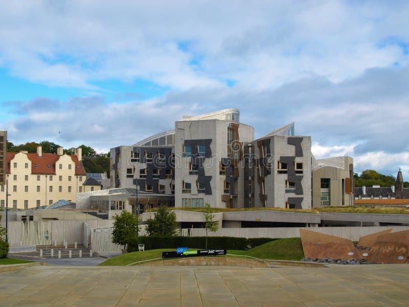 Le Parlement écossais, Edimbourg photos libres de droits