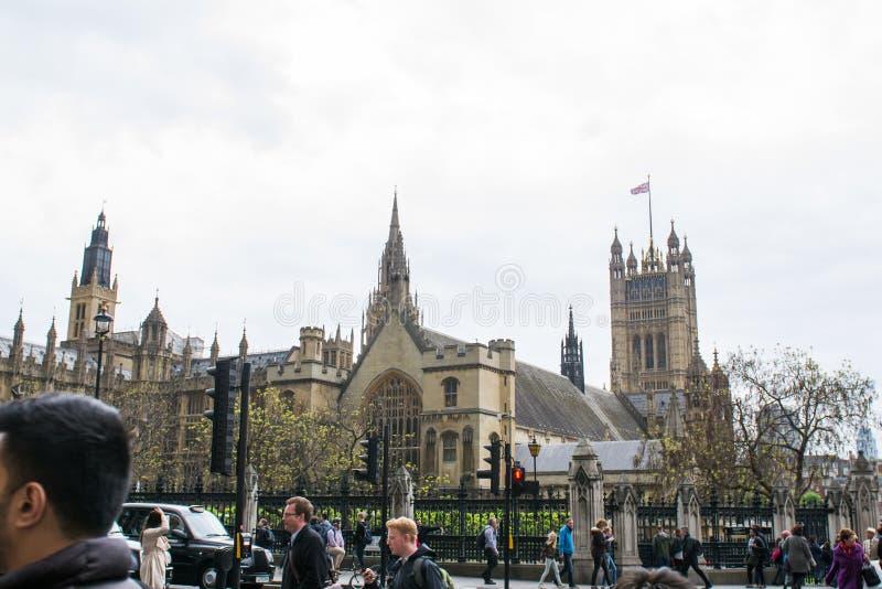 Le Parlement ajustent à Londres image libre de droits