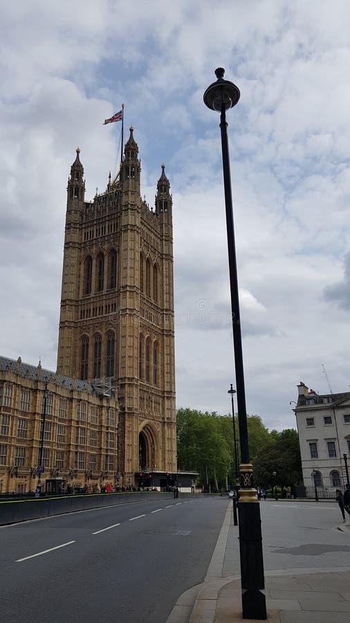 Le parlement anglais de Westminster photo libre de droits