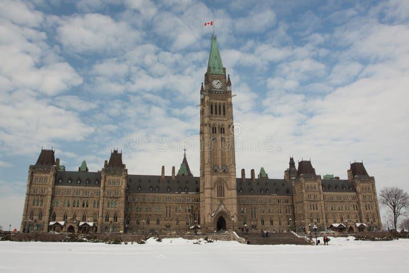 Le Parlement canadien image stock