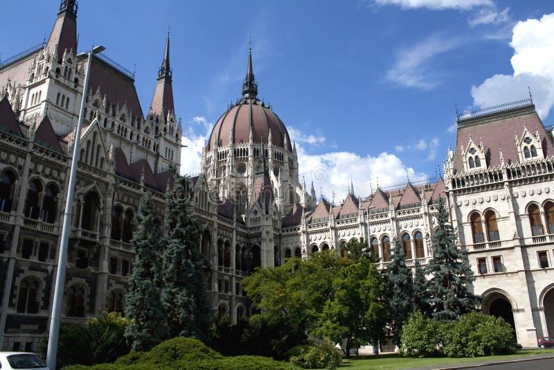 Le Parlement de Budapest photographie stock libre de droits