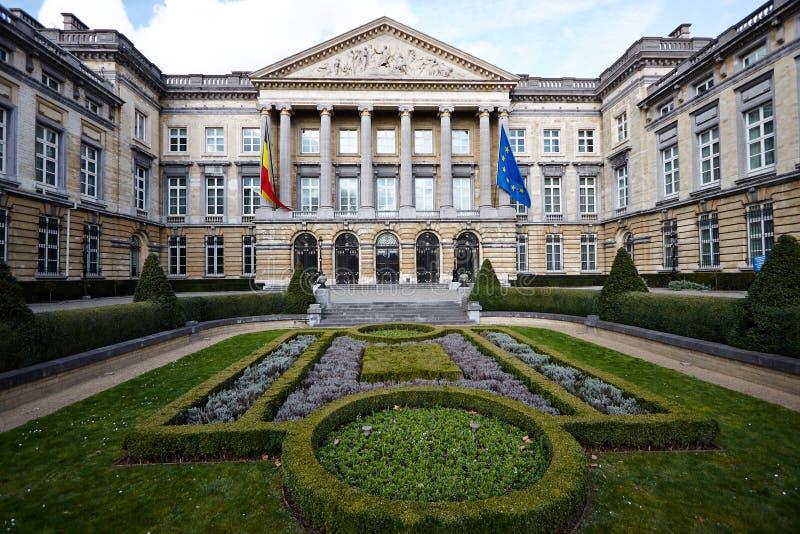 Le Parlement de la Belgique images libres de droits