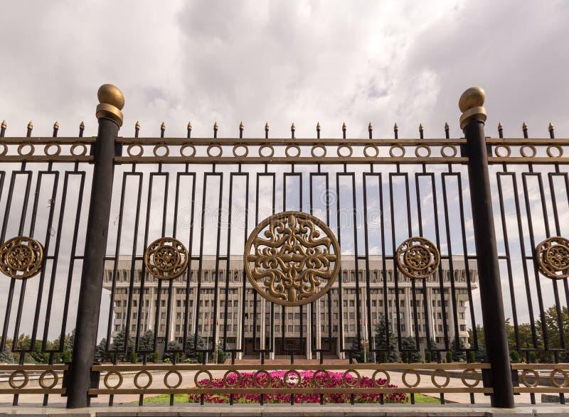 Le parlement de la république du Kyrgyzstan image libre de droits