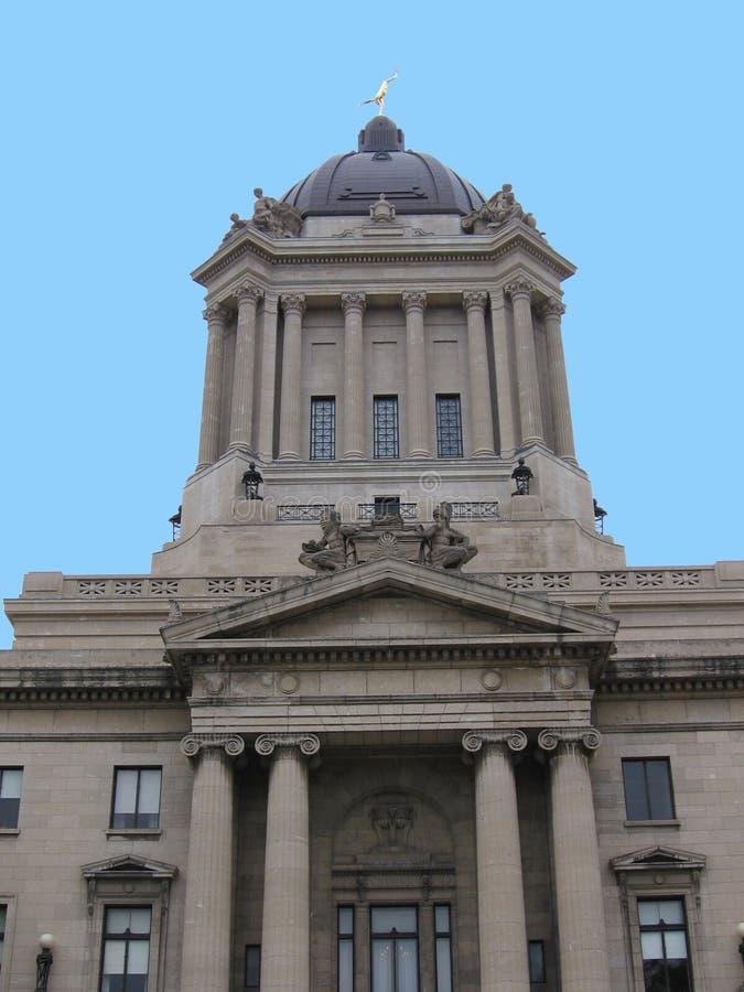 Le Parlement de Manitoba photographie stock libre de droits