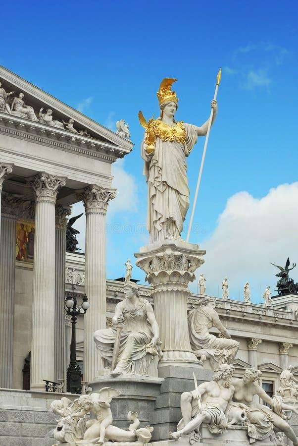 Le parlement de Vienne images libres de droits